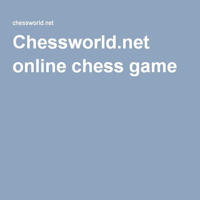 Chessworld.net online chess game
