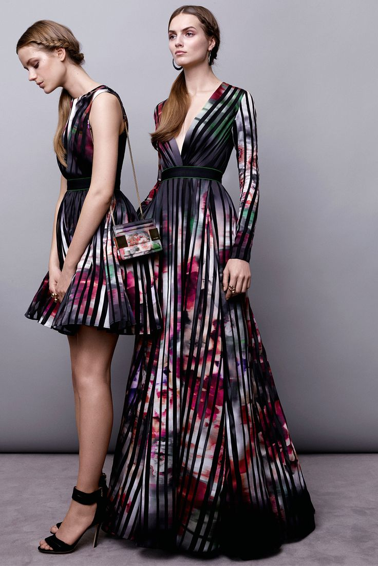 Elie Saab Pre Fall 2015 Collection...loving the colors and fab printed details!!