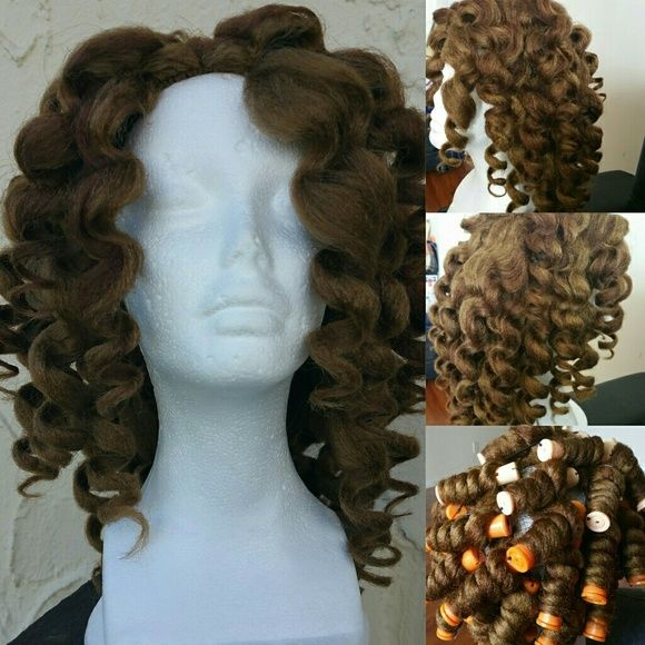 """Miss Nikki baby"""" Wig Miss Nikki baby""""  will ship for free or you'll pick her up  Wig type: crochet Color: 27 and with a little bit of high light of 30 on top Length: 16"""" Hair type: 100% kanekalon payment info: danise_2010@yahoo. dot Com  Payment type: paypal.dot com No low balling!!!!!! Price is firm!!!!!!  Thank you for shopping :) Other"""