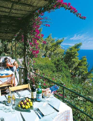 Le Grottelle Capri: Perfect Porches, Lunches, Grottelle Restaurant, Parties, Balconies, Relaxing Places, Happy Places, Back Porches, Perfect View