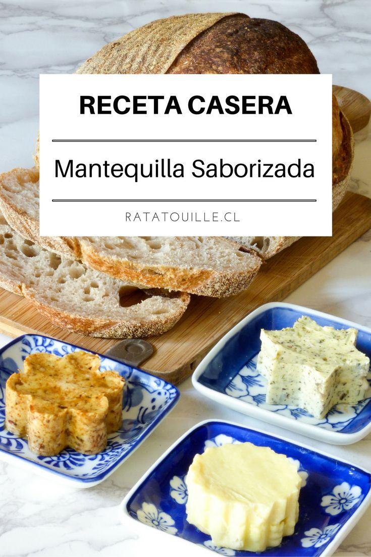 La mantequilla saborizada es lo mejor para acompañar tostadas, entradas o aperitivos. Haz click en la imagen para ver recetas de mantequilla saborizada.