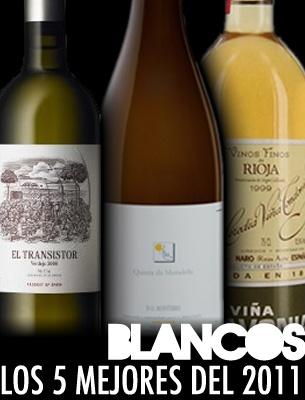 Los 5 Mejores Vinos Blancos del 2011