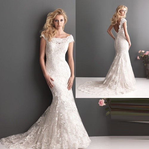 details about off shoulder lace beading fishtail bridal