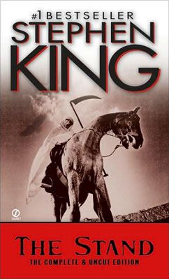 The Stand by Stephen King. I'll round out my post-apocalyptic books with the ultimate good vs. evil investigation of morality, religion and fate.