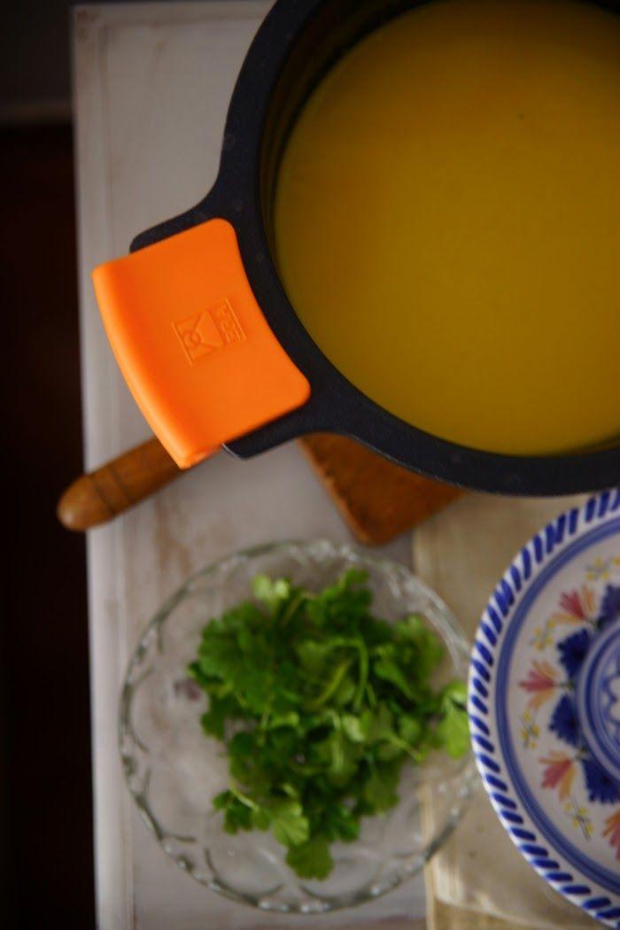 Per Anar Fent Gana ♥ by Marga cuina i receptas menorquines : ❋ sopa de zanahorias con cilantro y coco