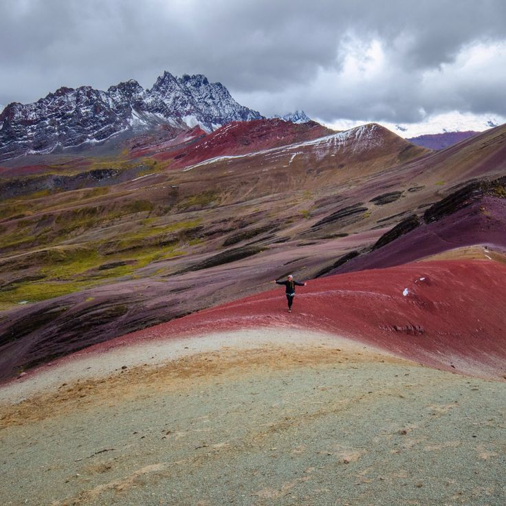 Rainbow Mountain trek Peru Flashpackerconnect.com for treks/tours