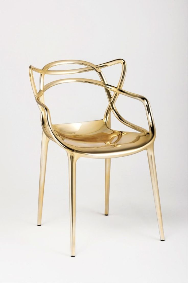 "Kartell ""Master"" chair by Philippe Starck"
