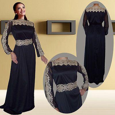 outstanding wedding Kaftan Dress Abaya Jilbab Islamic Kheleeji Dubai  Arabian 4