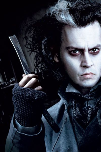 """Johnny Depp in """"Sweeney Todd: The Demon Barber of Fleet Street"""" (2007)"""