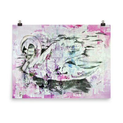 """Photo paper poster """"Swan"""""""