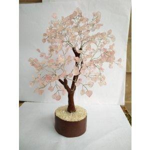 Rose Quartz Tree Large - 020