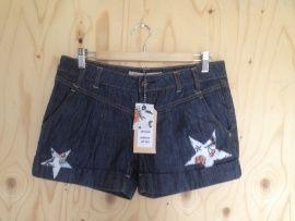 Upcycled shorts - Kort spijkerbroekje - maat 38