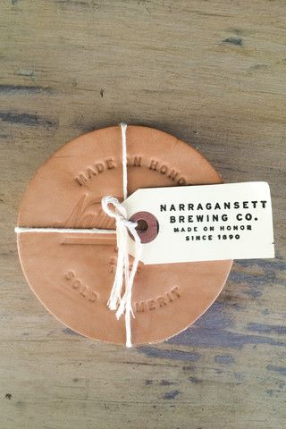 HARDEN Leather Coasters No.1