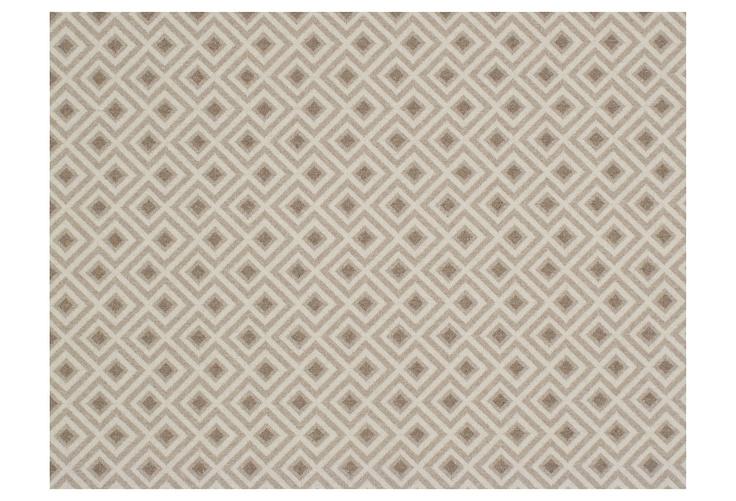 One Kings Lane - Designer Icon David Hicks - Fiorntna Wool Rug, Mirage