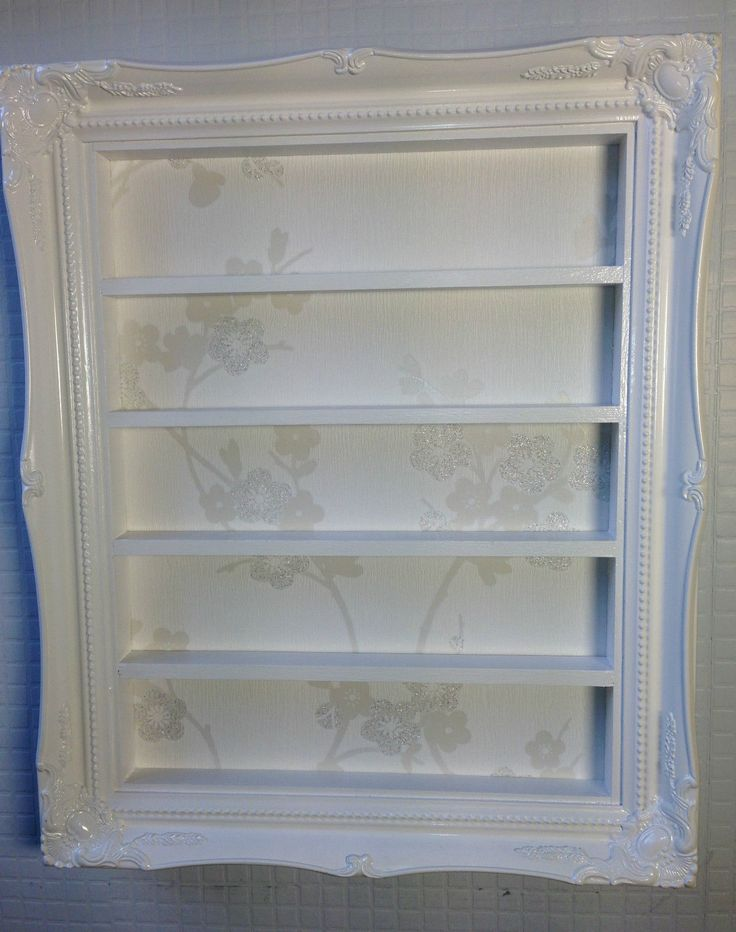 espositore smalti nail polish rack french shabby chic gelish shellac polish | eBay