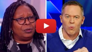 "Greg Gutfeld, co-host of Fox News Channel's The Five, finally had enough of The View's Whoopie Goldberg's criticism of President Trump and made it known Wednesday. Gutfeld's fuse was lit by a comment Goldberg made during Tuesday's episode of ABC's The View. ""We have a leader who's repeatedly demeaned women, wants to defund organizations that benefit women, calling on …"