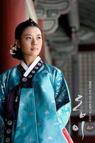 Han hyo joo in Dongyi