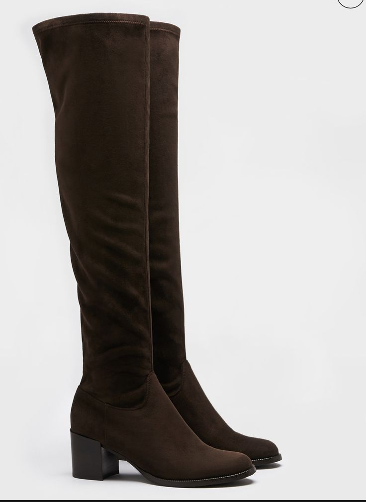 Stretch cuissard boots