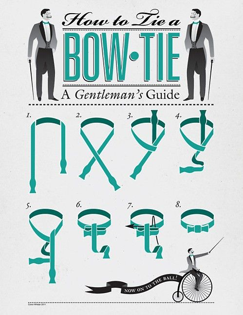 Noeud pap' etc {concours inside} the groomsmen will need this guide for sure