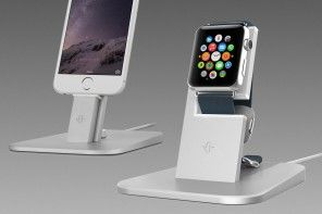 HiRise Apple Watch Stand from Twelve South