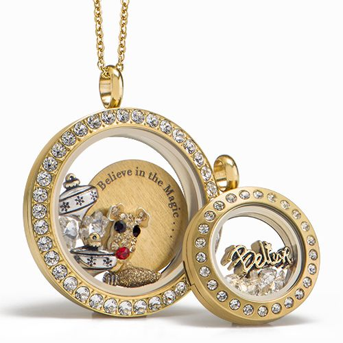Our new Living Lockets® capture the magic and merriment of the 2016 season and offer elegant sparkle for special occasions or for an everyday look!