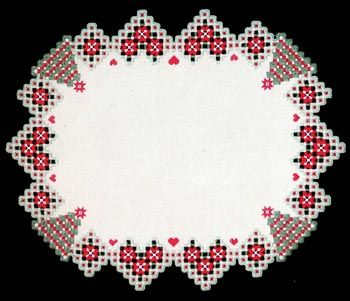 Christmas Cloth (Hardanger embroidery)
