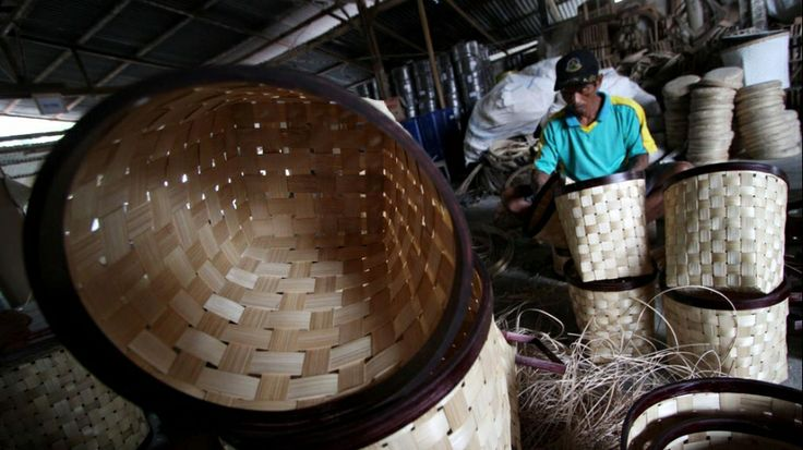 Bamboo Crafts in Sleman