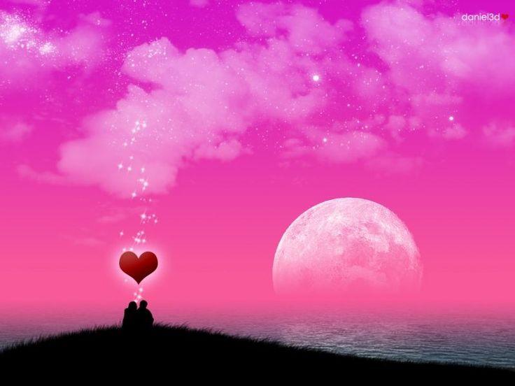 خلفيات رومنسية سطح المكتب فوتوشوب مداد الجليد Cute Valentines Day Quotes Pink Abstract Art Romantic Wallpaper