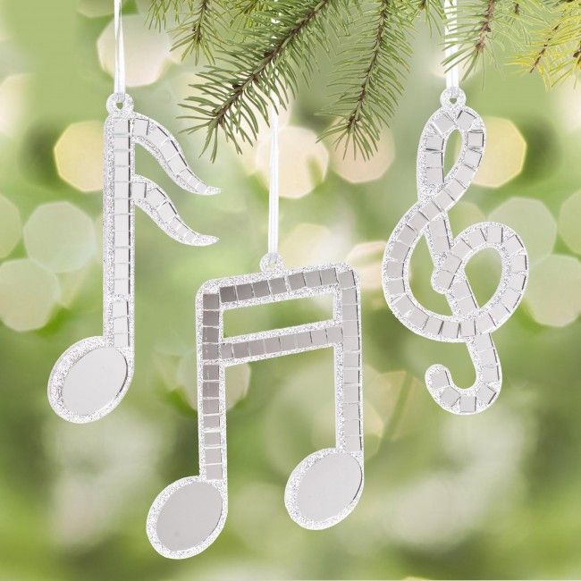 Decorate your Christmas tree with one of these Music Note shaped ornaments.    Whether you're looking for stocking stuffers, Secret Santa presents, festive Christmas decor or even gift cards, we have a huge selection of unique holiday stuff to make your days and nights merry and bright.
