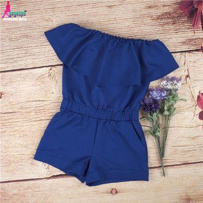 Sexy Strapless Romper - Jumpsuit - Solid Candy Color