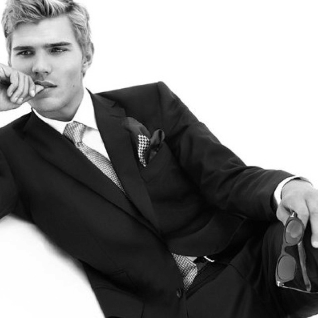 Chris Zylka would be one of my choices to play James in Suzanne Young's novel The Program.