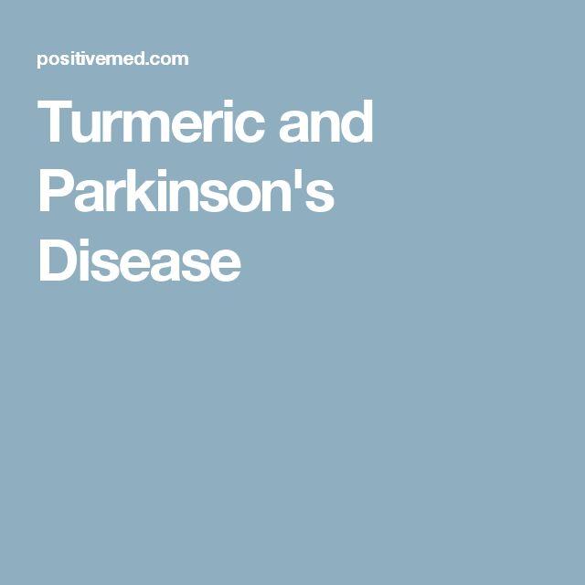 Turmeric and Parkinson's Disease