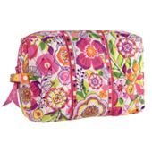 Large Cosmetic | Vera Bradley - Clementine pattern
