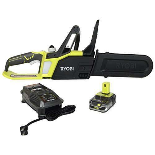 Ryobi P547 10 in ONE 18Volt Lithium Cordless Chainsaw Kit *** You can get additional details at the image link.