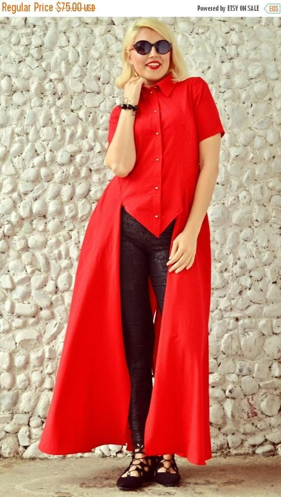 SALE 25% OFF Extravagant Red Top Short Sleeved Red Shirt https://www.etsy.com/listing/273523706/sale-25-off-extravagant-red-top-short?utm_campaign=crowdfire&utm_content=crowdfire&utm_medium=social&utm_source=pinterest