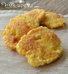 Frittelle di patate e prosciutto cotto facili e veloci § buonissima ricetta! §