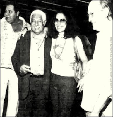Clara Nunes e Dorival Caymmi