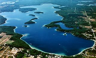 Long Lake in Traverse City, Michigan.  How I love thee.