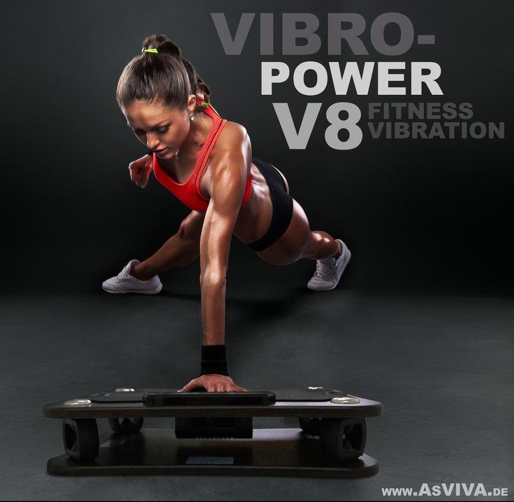 NEU: V8 BLACK POWER VIBRATIONSPLATTE - Fitness Vibration VIBRO POWER von www.asviva.de - Das ist Fitness made in germany  #vibration #vibrationstraining #muskeltraining #muskel #fitness #body #fatburn #heimtrainer #hometrainer #fitnessgerät #training #fitnesstraining #trainer #asviva #fitnessprofi #fitforbody
