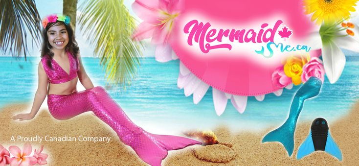 ⭐Mermaid Tails for Kids & Adults🧜‍♀️ Put the monofin inside the tail and swim like a real mermaid!! ONLY $99 + 📦FREE SHIPPING in Canada and USA✈️ A lot of different Mermaid tails on 👉  https://www.mermaidme.ca a Proudly Canadian Company🇨🇦️