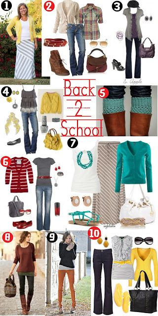Some good teacher clothes.  Others would be nice for the weekends