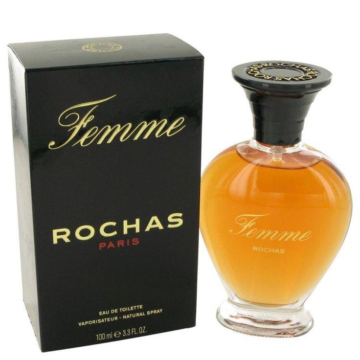 Femme Rochas By Rochas Eau De Toilette Spray 3.4 Oz