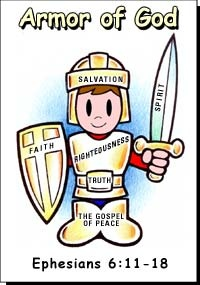 Armor Of God Crafts For Toddlers
