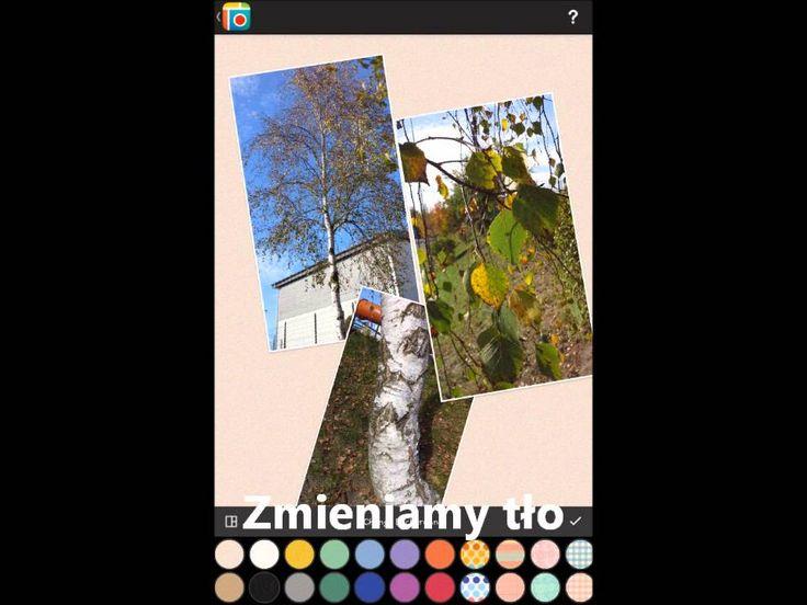 Ja stworzyć plakat w aplikacji na tablet Pic Colage