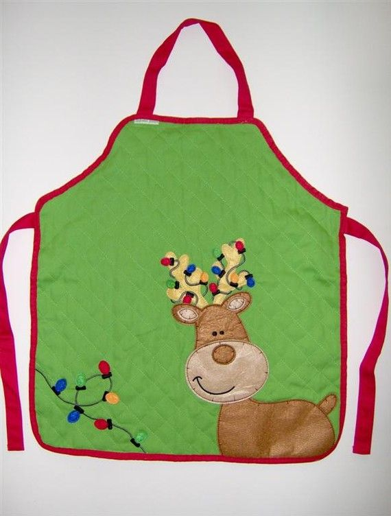 Best ideas about christmas aprons on pinterest