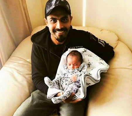 Indian  all-rounder cricketer Ravindra Jadeja, who became father of a baby girl on June 8 and recently reveals name of his little baby.   ...