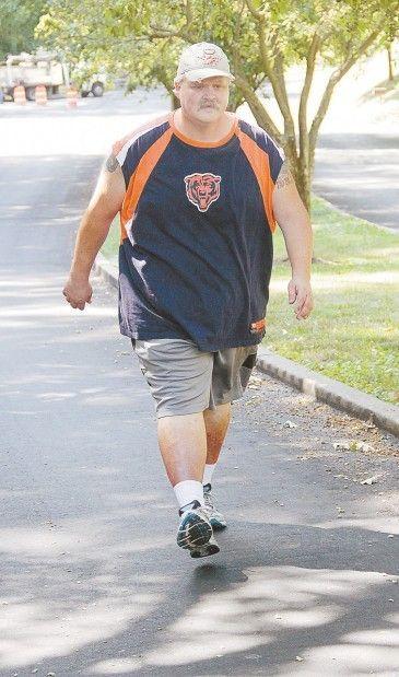 Man drops 150 pounds to achieve goal of walking QCT Bix 7