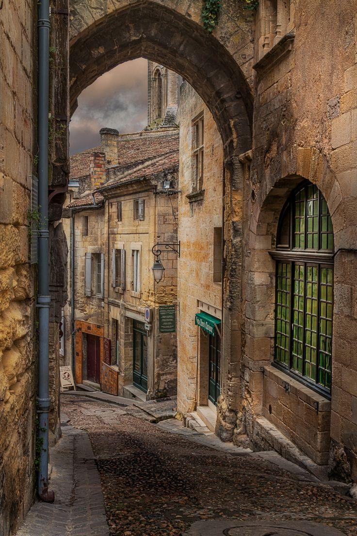 St-Emilion, village médieval - Aquitane, France