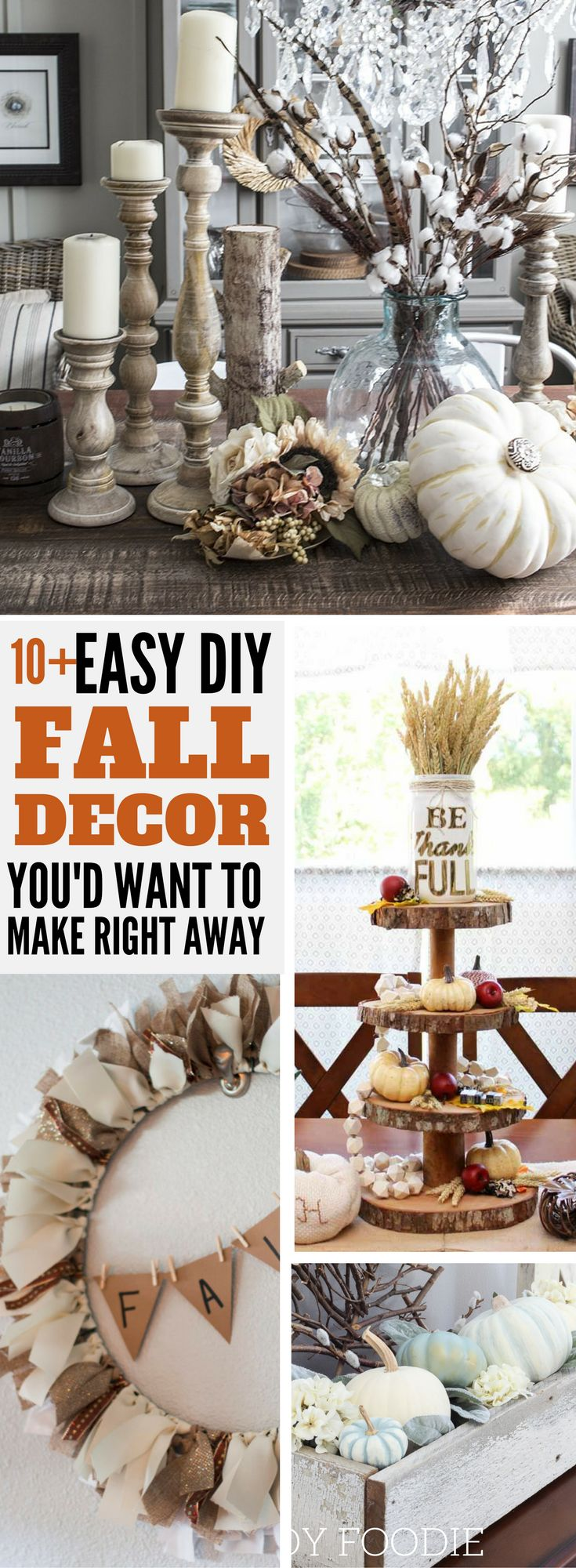 Best 25+ Dollar Tree Fall Decor Autumn Ideas On Pinterest