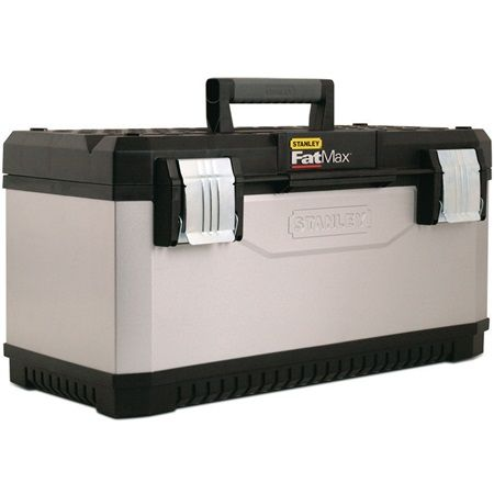 Stanley Tools - 26 in FatMax Gray Metal Plastic Tool Boxes - 026180R